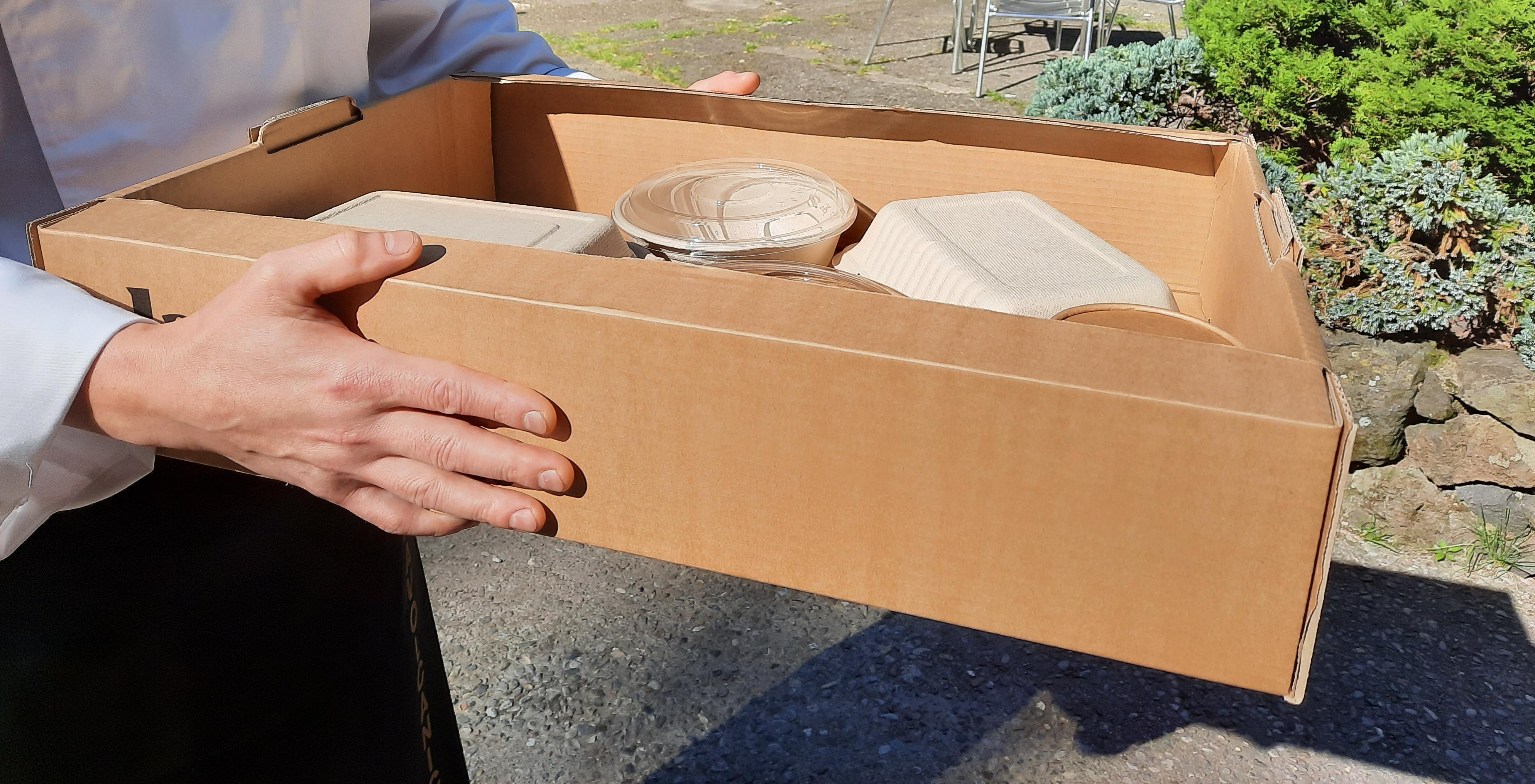 Menjar per emportar i a domicili