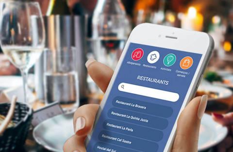 Garrotxa Approp, l'aplicació mòbil que permet gaudir de l'oferta comercial, d'hostaleria i de serveis
